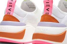 Tênis Branco Multicolor Beat Slip On Feminino