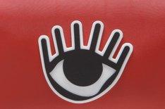 Necessaire Eye Vermelha Média