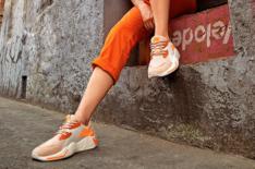 Tênis Laranja Beat Move Lace Feminino