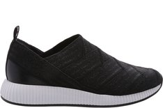 Tênis Five Slip On Stripes Preto