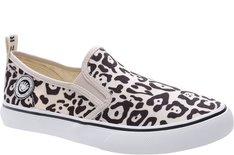 Tênis Long Slip On Animal Print