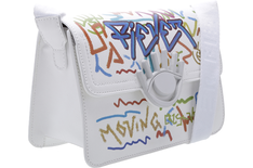 Crossbody Icon Grafite Branca
