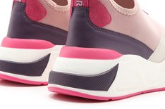 Tênis Rosa Beat Slip On High Feminino Alok