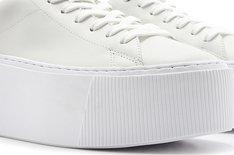 Tênis Branco Spice Lace Flatform