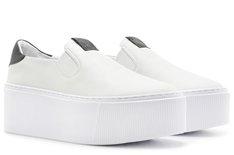 Tênis Branco Spice Slip On Flatform