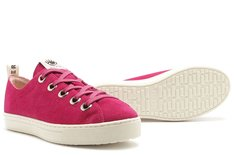 Tênis Venice Cow Suede Bright Rose