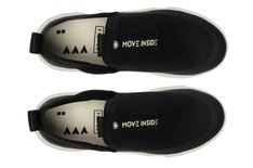 Tênis Preto Melrose Move Inside Slip On Masculino