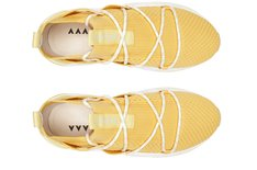 Tênis Amarelo Beat Lace Knit Feminino