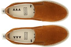 Tênis California Slip On Juta Brandy