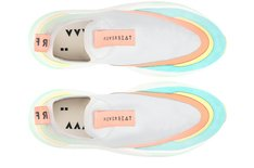 Tênis Branco Multicolor Beat Slip On High Feminino Alok