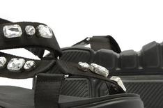 Sport Sandal Melrose Crystal Preta