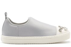 Tênis Malibu Slip On Bright Grey