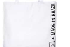 Bag Branca Made In Brazil Lona Média