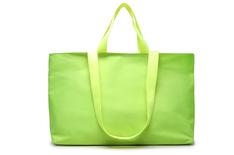 Shopping Verde e Branco Nylon