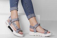 Sport Sandal Melrose Crystal Grey
