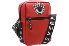Crossbody Nylon Eye Vermelha