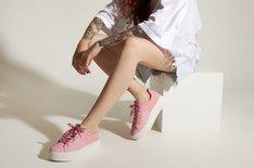 Tênis Rosa California Mix Feminino