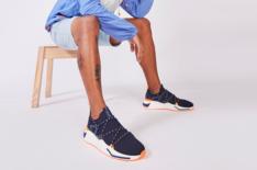 Tênis Azul Marinho Beat Lace Knit Masculino Alok