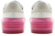 Tênis Branco e Rosa Colored