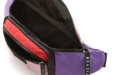 Pochete Roxa Colored Nylon