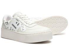 Tênis Branco California Stripes Feminino