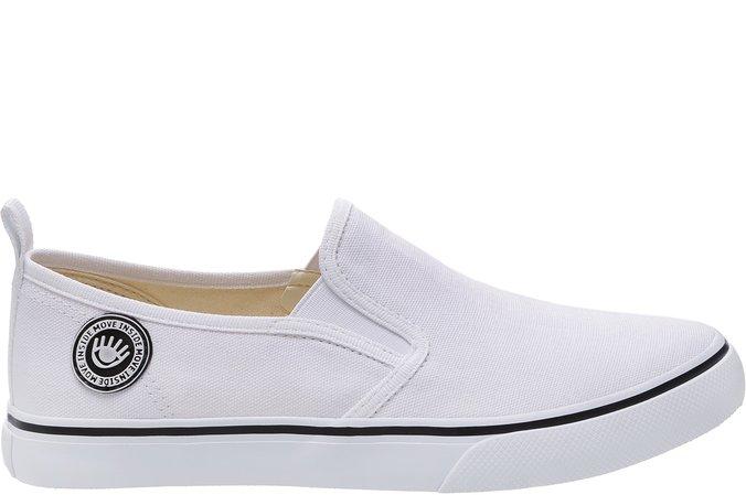 Tênis Long Slip On Branco