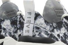 Tênis Branco e Preto Beat Amplify Tie Dye Masculino