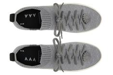 Tênis Cinza Venice Slip On Knit