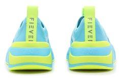 Tênis Azul Beat Color Blast Elastic Slip On Neoprene Feminino