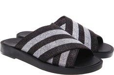Sandal Lurex Prata