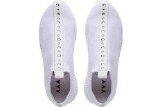Tênis Five Knit Pedrarias Branco