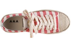Tênis Bay Laced Listras Red Mary