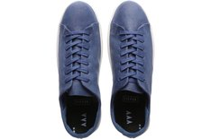 Tênis Venice Masculino Couro Gasto Blue Jeans Sola Baixa