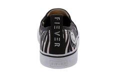 Tênis Long Slip On Prints Zebra