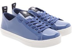Tênis Venice Verniz Blue Jeans Sola Baixa