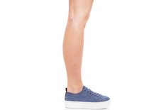 Tênis Venice Jeans Crimp Blue Jeans Sola Alta