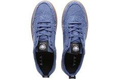 Tênis Newport Jeans Crimp Desfiado Sola Alta Crepe