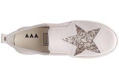 Tênis Malibu Couro Marfim Star Sola Alta