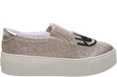 Tênis California Slip On Glitter Dourado