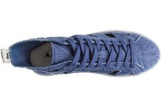 Tênis Coastline Lona Blue Jeans Vazado Sola Baixa