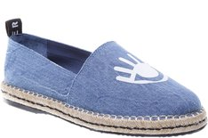 Espadrille Silk Eye Jeans Crimp